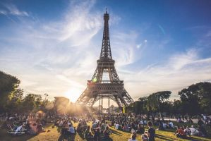 Eiffel tower by AJaber