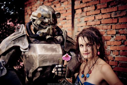 The last flower (Fallout) by CharlieHotshot