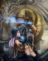 Lady for the Machine by Pachecoart