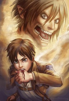 SnK: Eren Jaeger by Risachantag