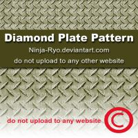 PS6 PATTERNS - Diamond Plate by Ninja-Ryo