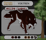 DotW REF - Hellion, Scion of Vektren by Halkuonn