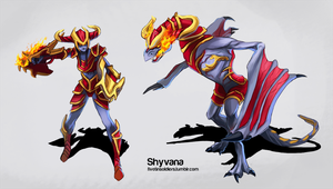 Shyvana by fivetinsoldiers