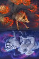Ninetales Mirrored