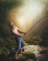 Fishing by ditney