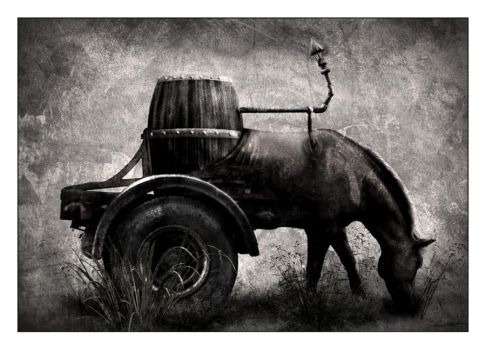 Horsepower by linecut