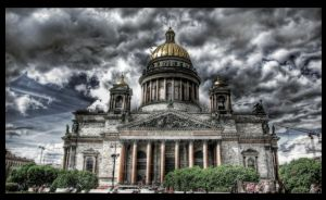Saint Isaac's Cathedral HDR by ISIK5