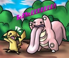 attack of the lickitung by jeffica
