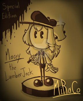 Macey the LumerJack Figurine by MiRaCo-Oficial