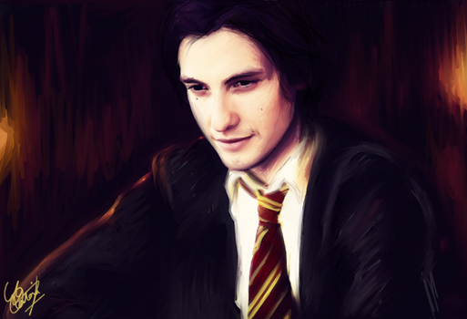 Young Sirius Black by cattybonbon