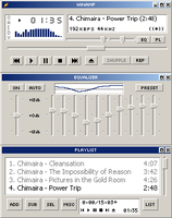 Windows Classic for Winamp by tool-hippy