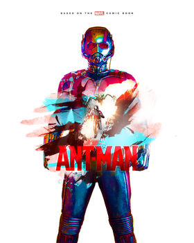 ANT-MAN Movie Poster by Mahm0udWally