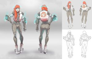 Character Concept / Tara by BrotherBaston