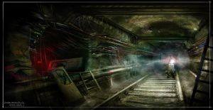 Abandoned Subway by capottolo