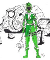 Emerald Earth Ranger by JohntheSilver