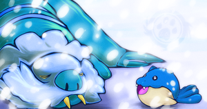 Wake Up! Spheal wants to play!!!