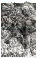 Iron Fist Vs White Tiger by wolfpact