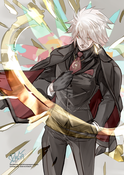 FATE/APOCRYPHA Karna Chaldea Ace by darkn2ght