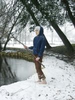 Cosplay Jack Frost by caly-graphie