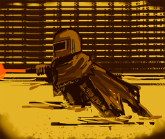 Quick painting: Unknown Infiltrator by UltraLiThematic