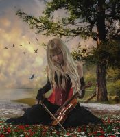 Spring Melody.. by Alz-Stock-and-Art