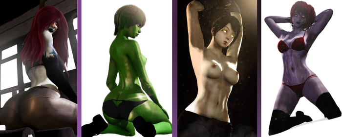 [NSFW] Lewd Collection 1 by WitchyGmod