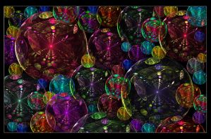 Technicolor Bubble Dream by MystikAngel