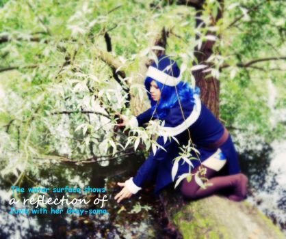 Reflections / Juvia - Fairy Tail by destinette
