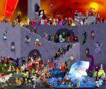 Disney Villains Collaboration by Zimeta