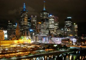 Melbourne, Australia by dx