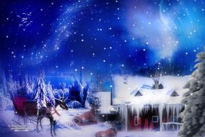Santa House by annemaria48