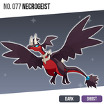 077 Necrogeist (Shiny) by zerudez