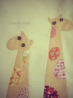 I Heart Giraffe by heppieyippie