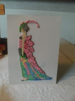 Quilled A4 size 1 by mija58