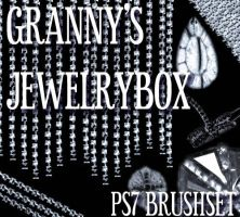 Grannys Jewelrybox brushes PS7 by blackdahlia