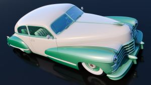 1946 Cadillac Series 62 Sedanette by SamCurry