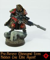 Pre Heresy Thousand Sons Hidden One Elite Agent by Proiteus