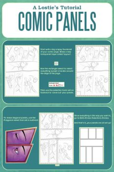 A Lostie's Tutorial - Comic Panels and Layouts by LauraHollingsworth