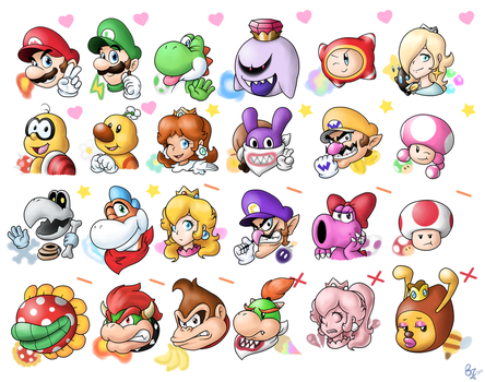 New Mario Character Preference by Zieghost