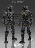 Commission: Taranis XDN Gen7. by aiyeahhs