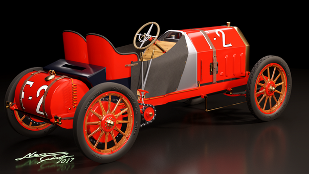 1907 Fiat F-2 130 HP - 2 by GeckoNeon
