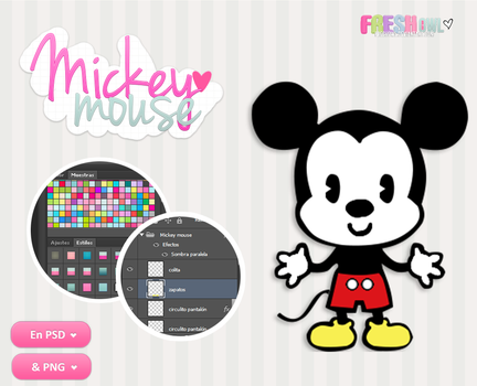 +(PSD/PNG) mickey mouse(: by freshowl