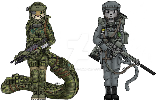 Soldiers (re-finished) by ACBradley