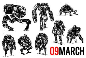 March of Robots 09 by yongs