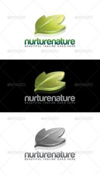 Nurture Nature Logo by rixlauren