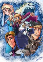 FROZEN by JFRteam