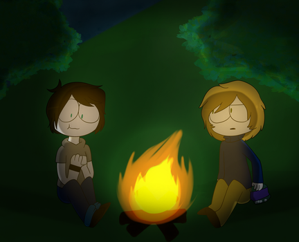 Camping - The Mark Side by Saveraedae