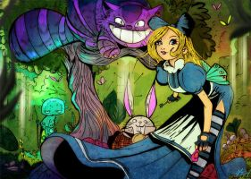 Alice -the riddle of the hatter by gaberoseart