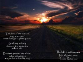 light is getting away by michelesato