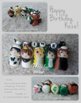 SHINee Polymer Clay by fubishie